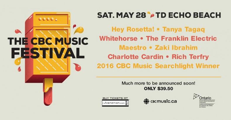 CBC Music Festival 2016