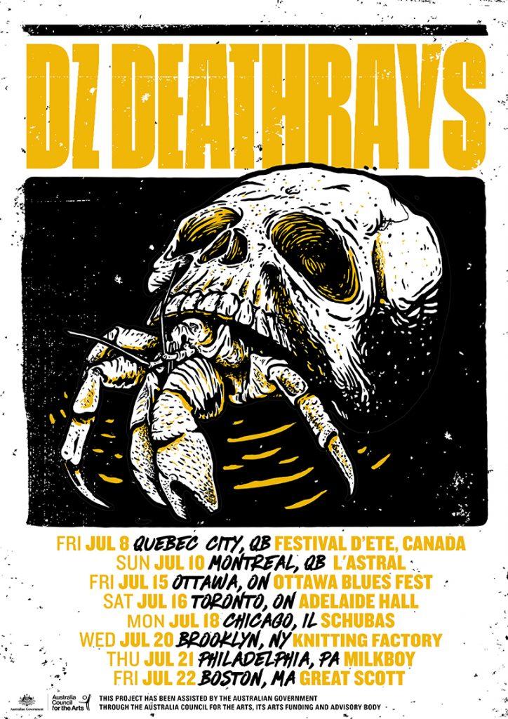 America tour dates in Australia
