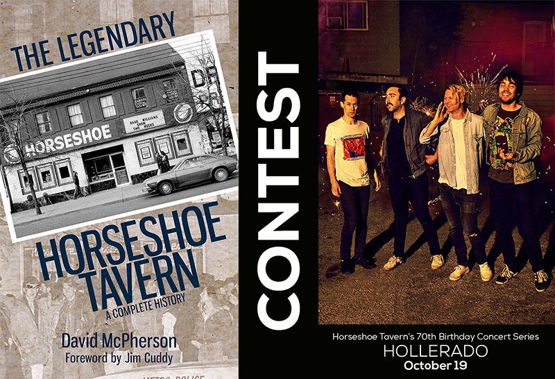 Horseshoe contest