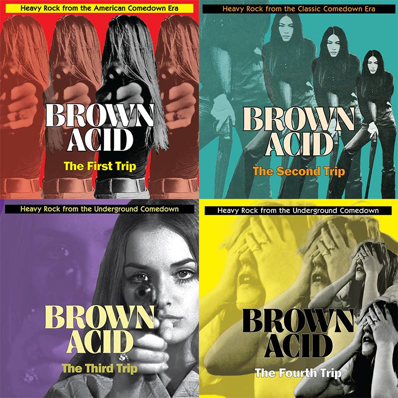 SPILL FEATURE: BROWN ACID: THE FIFTH TRIP - AN ALBUM BREAK
