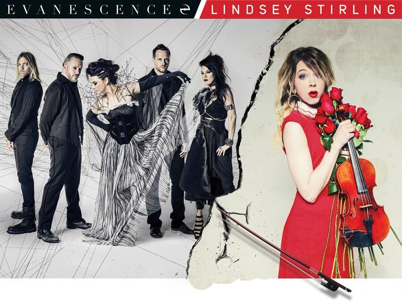 Lindsey Stirling Christmas Album.Spill Live Review Evanescence W Lindsey Stirling