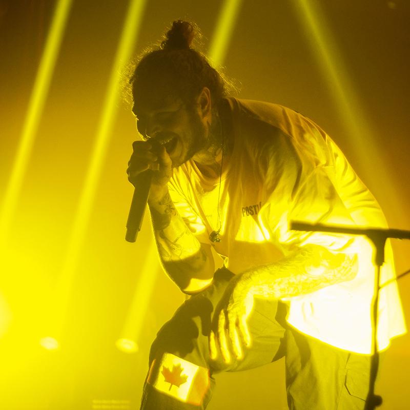 Where Does Post Malone Live: SPILL LIVE REVIEW: POST MALONE W/ SKI MASK THE SLUMP GOD