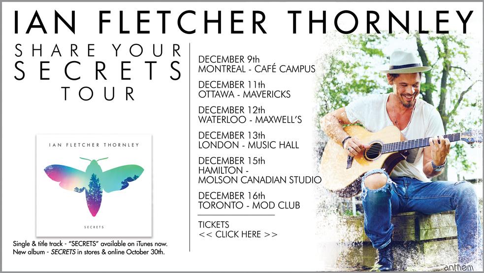 Ian Fletcher Thornley Tour