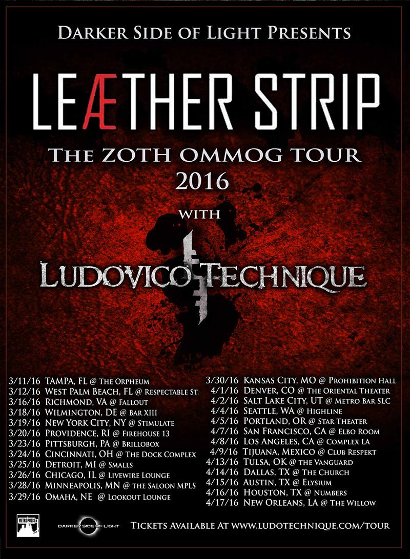 Ludovico Technique Tour Poster